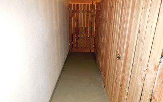 Kellersanierung mit Erneuerung der Kellerabteile