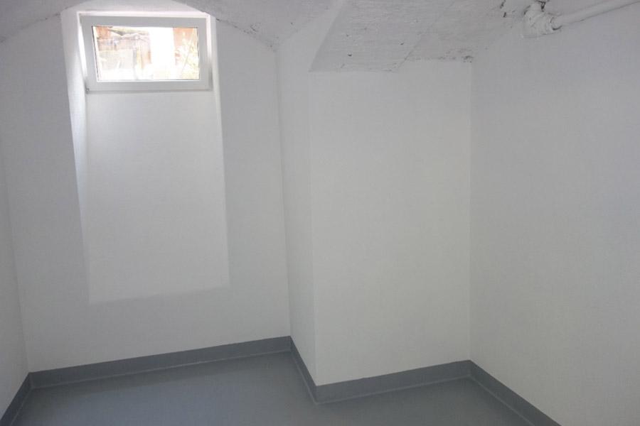 Nach der Sanierung ist der Keller nutzbar